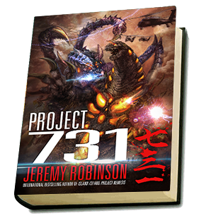 Project 731 Book Cover
