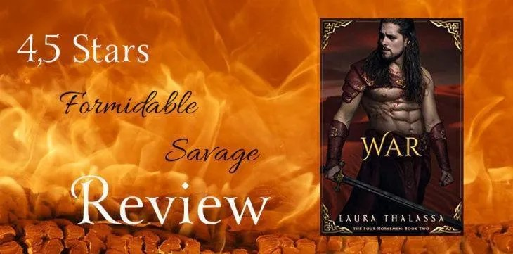 War by Laura Thalassa  Review of an incredible ride