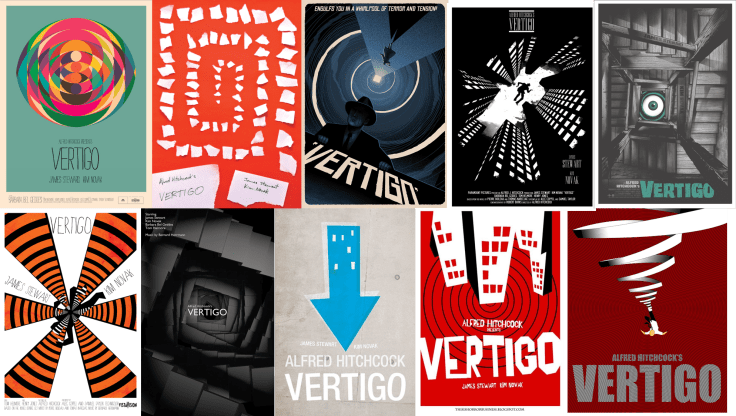 Vertigo Posters from around the World