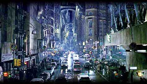 Scene from Tim Burton's 1989 Batman