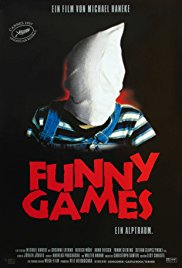 Poster from 1997 Funny Games