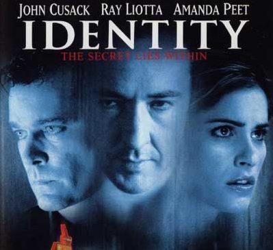 Movie poster for Identity John Cusack, Ray Liotta and Amanda Peet