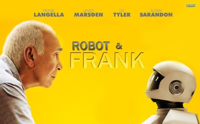 Poster for robot and frank movie