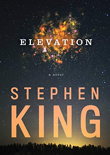 Elevation a novel or novella by Stephen King book cover