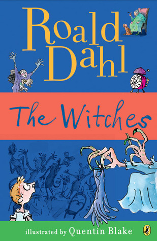 Cover of Roald Dahl's book The Witches