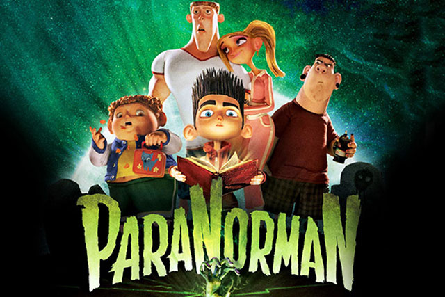 Movie Poster for ParaNorman children's comedy