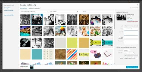 Añadir una foto, un video o pdf dentro del cuerpo de tu noticia