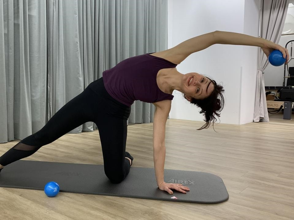 Exercises with Weight Ball
