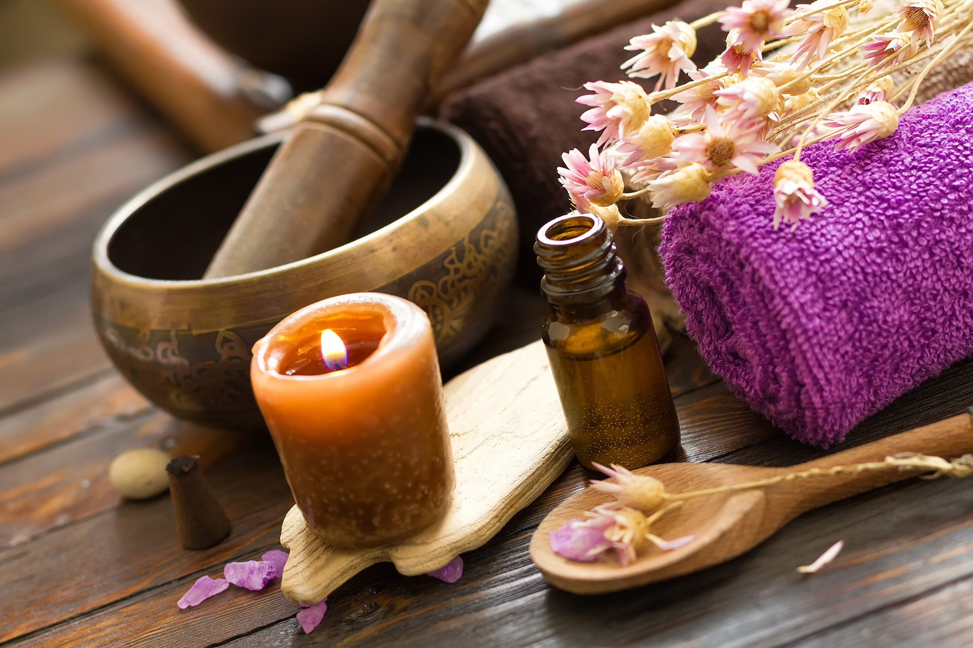 Singing Bowl Aromatherapy