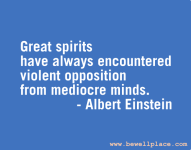 Quote Of The Day Inspiration From Albert Einstein