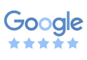 50 x 5 Sterne Google Bewertung mit Rezension