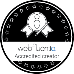 be whole is a webfluential accredited blog