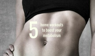 5 home workouts to boost your metabolism
