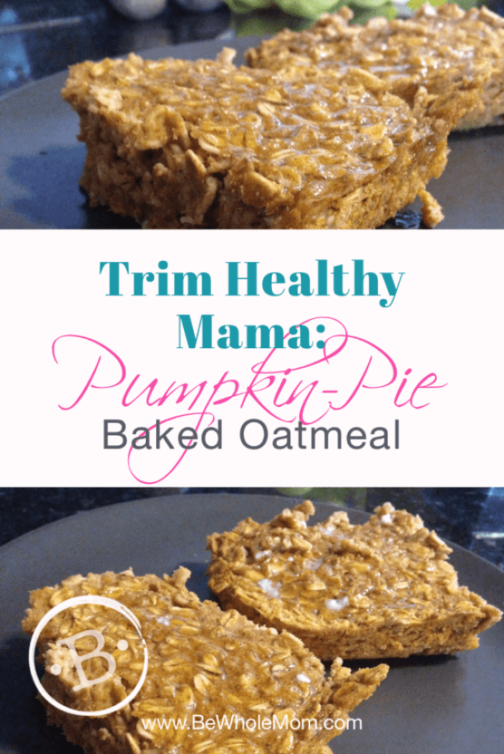 THM Pumpkin Pie Baked Oatmeal; Ready for a Fall favorite you will be bound to have year after year from now on?!  This super easy breakfast is READY to share!