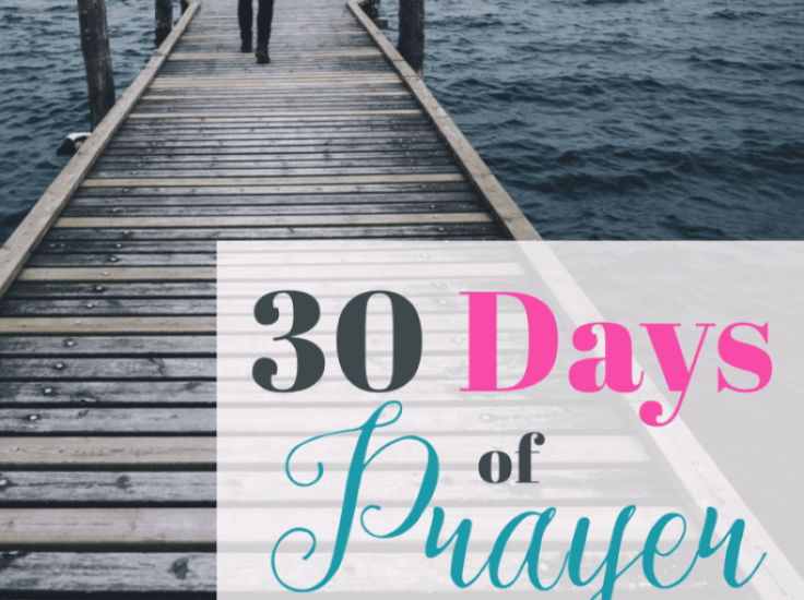 30 Days of Prayer: Pray to Live by faith (Day 16)