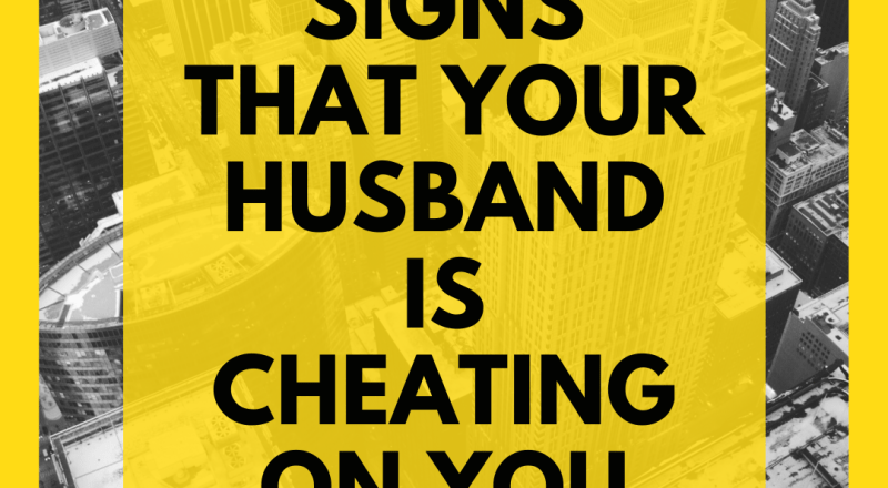 Guilt signs of cheating husband 6 Signs