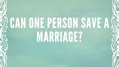 Photo of Can one person save a marriage?