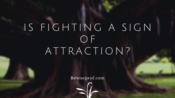Is fighting a sign of attraction?