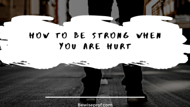 Photo of How to be strong when you are hurt