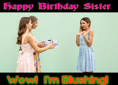 Birthday letter for sister
