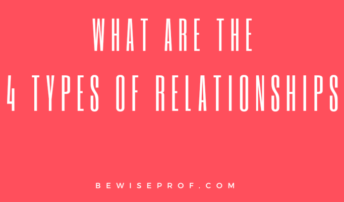 What are the 4 types of relationships