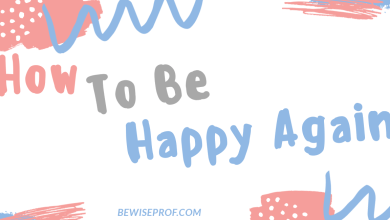 Photo of How to be happy again