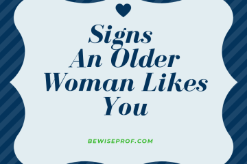 signs an older woman likes you