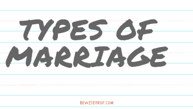 Photo of Types Of Marriage