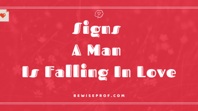 Photo of Signs A Man Is Falling In Love