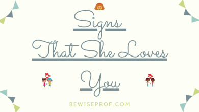 Photo of Signs that she loves you