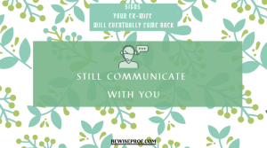 Still communicate with you