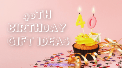 Photo of 40th Birthday Gift Ideas