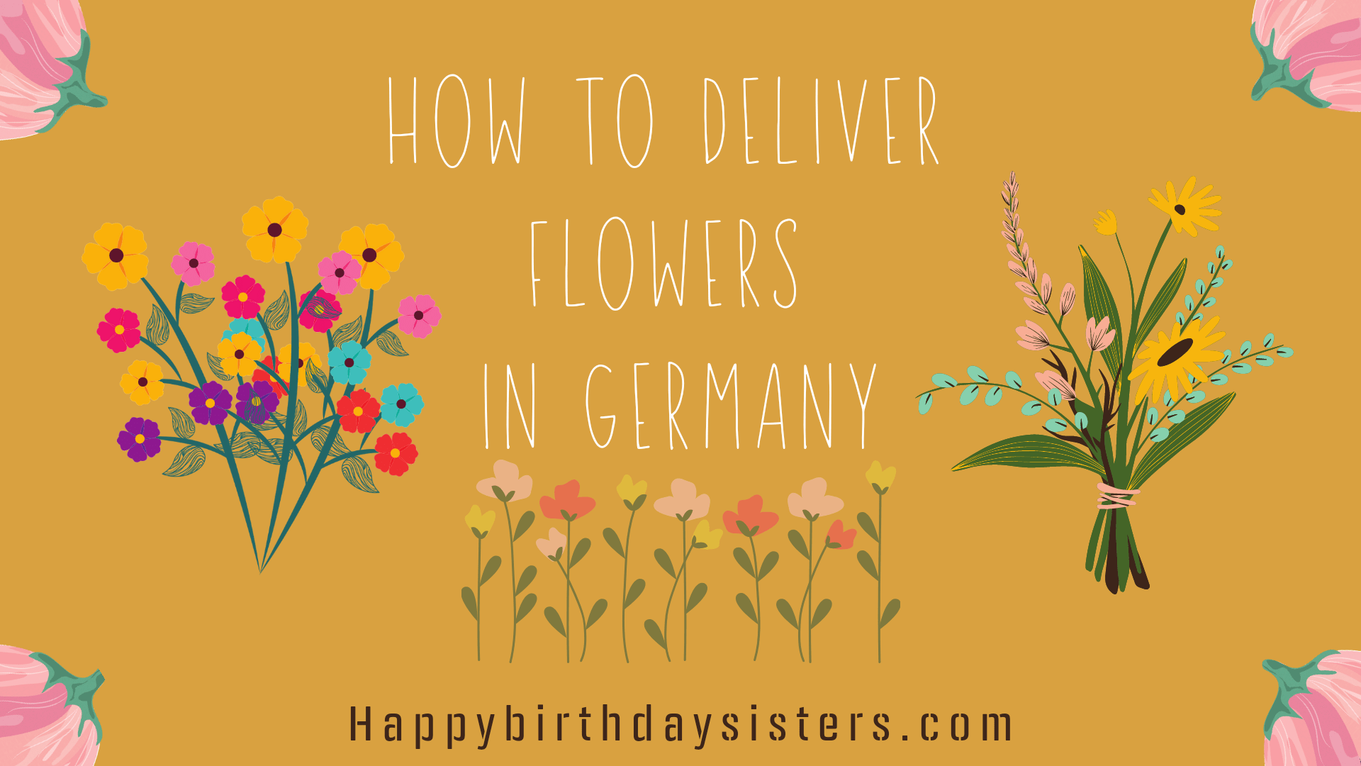 How to Deliver Flowers in Germany