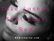 Fake Lashes That Look Real