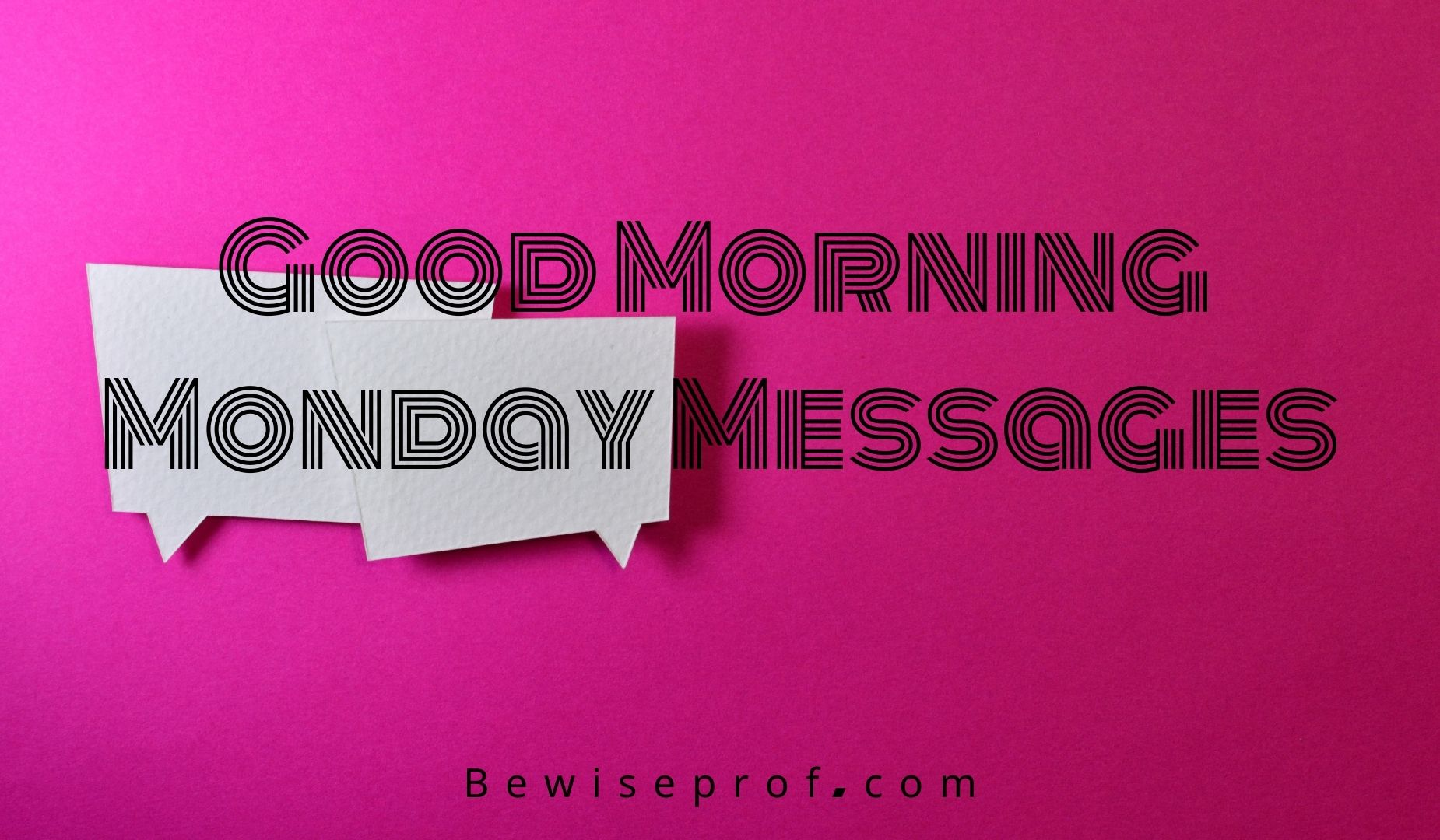 Good Morning Monday Messages
