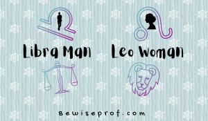 Libra Man Leo Woman