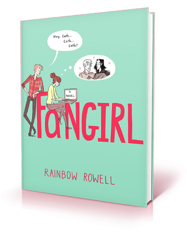 Fangirling over Fangirl by Rainbow Rowell