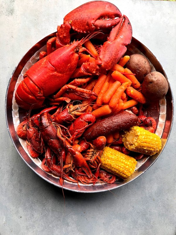 Seafood Boil for Sriracha Butter Sauce