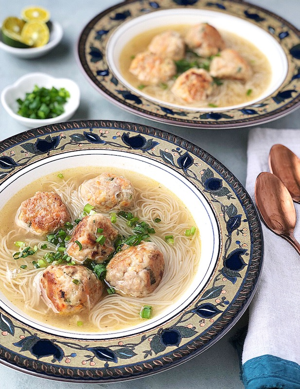 Be With Mia Almondigas Meatballs Misua Soup