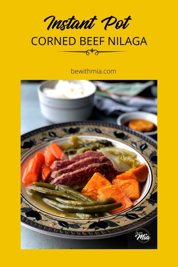 Instant Pot Corned Beef Nilaga Pin