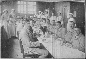 Normanhurst Christmas lunch. 1st january 1916 Chronicle