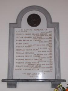 St. Oswald's Church Memorial
