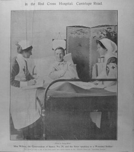 Photo Christmas in Cantelupe Road hospital 1st January 1916