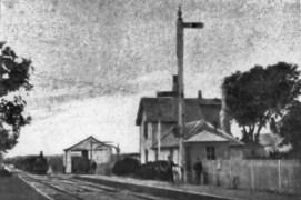 Bexhill halt c1870 first railway station 1846 line