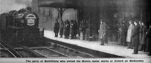Central Station - Bex Obs 23.2.1935