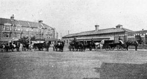 Central Station - Carriages c1900