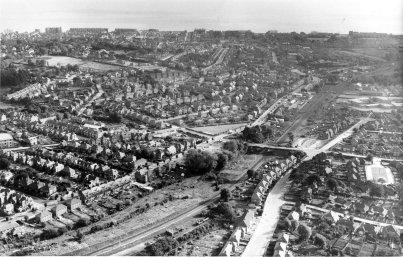 Crowhurst line, Bexhill c1950