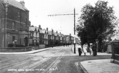 EGE-032 - Egerton Road and Park Road, Bexhill c1910