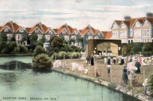 Egerton Park Tennis Courts, Bexhill c1920