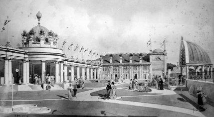 Egerton Park Pergola proposal 1908